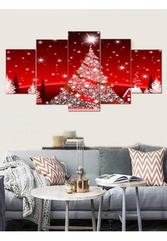 Christmas tree Print frameless oil painting