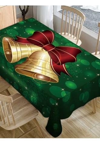 Christmas Bell Print Fabric tarpaulin