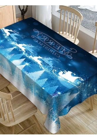 Merry Christmas elk printed tarpaulin
