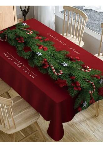 Merry Christmas Candy rattan tarpaulin