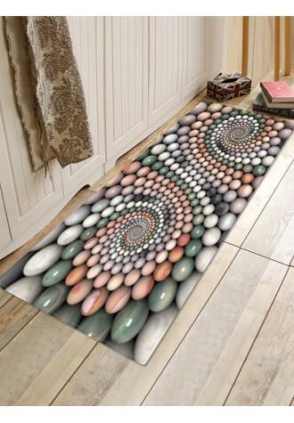 3D stone revolving pattern carpet