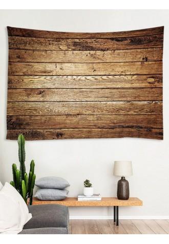 Wood printed tapestry