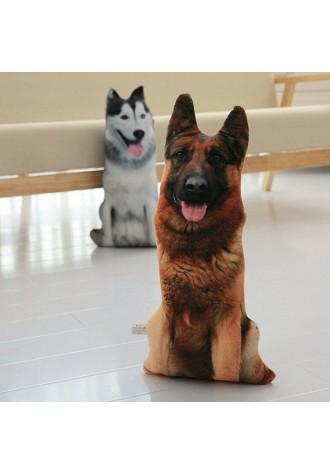 3D imitation dog pillow