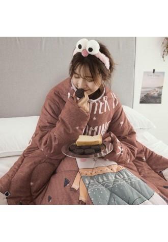 Winter warm multifunctional quilt