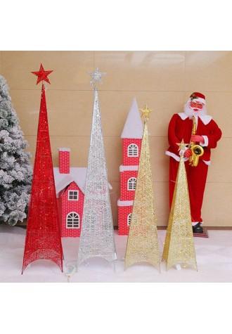 Iron four foot Christmas pyramid 150 cm
